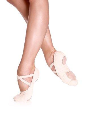 So Danca Balletschoen normale/smalle voet roze SD16
