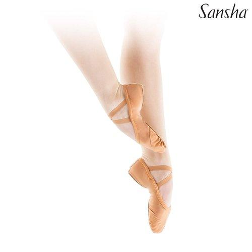 Sansha Balletschoenen maat 39 WIT