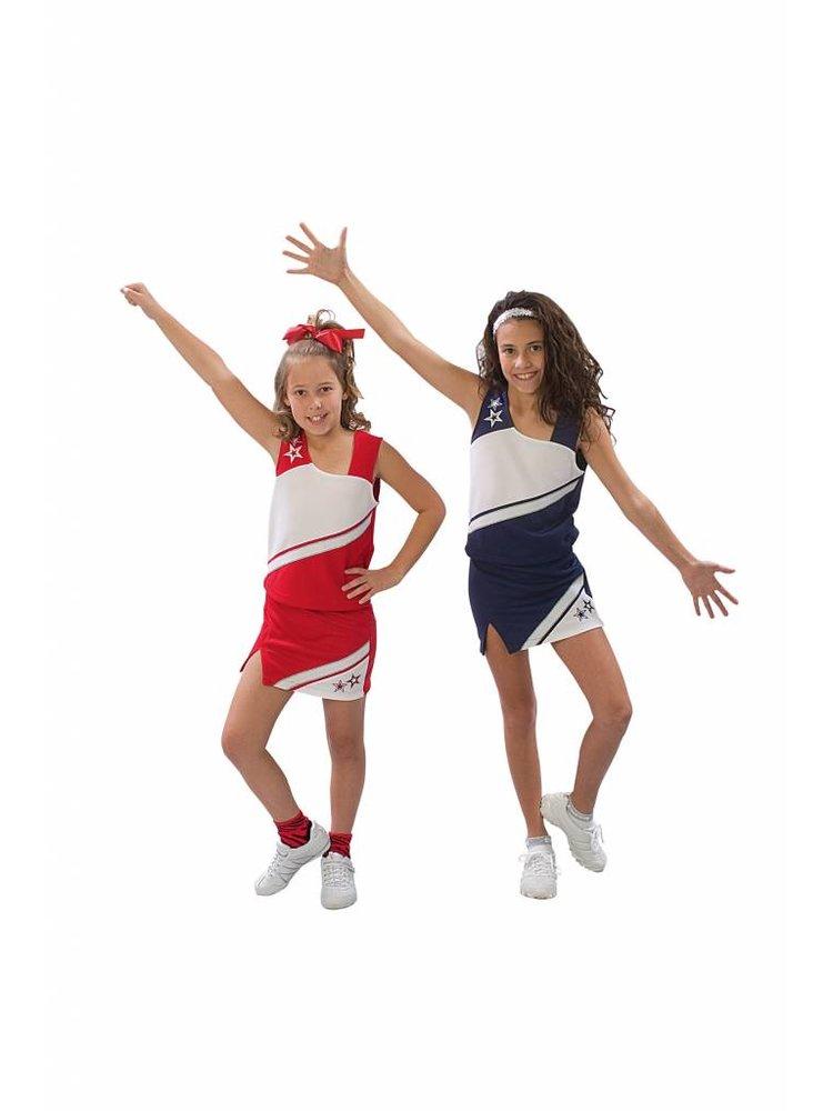 Pizzazz Cheerleading pakje Rok + Top