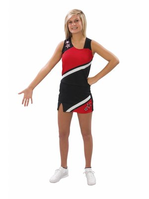 Pizzazz Cheerleading pakje Rok + Top