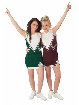 Pizzazz Cheerleading Uniform Rok + Top
