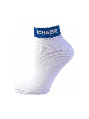 Pizzazz Enkel sok Cheer blauw