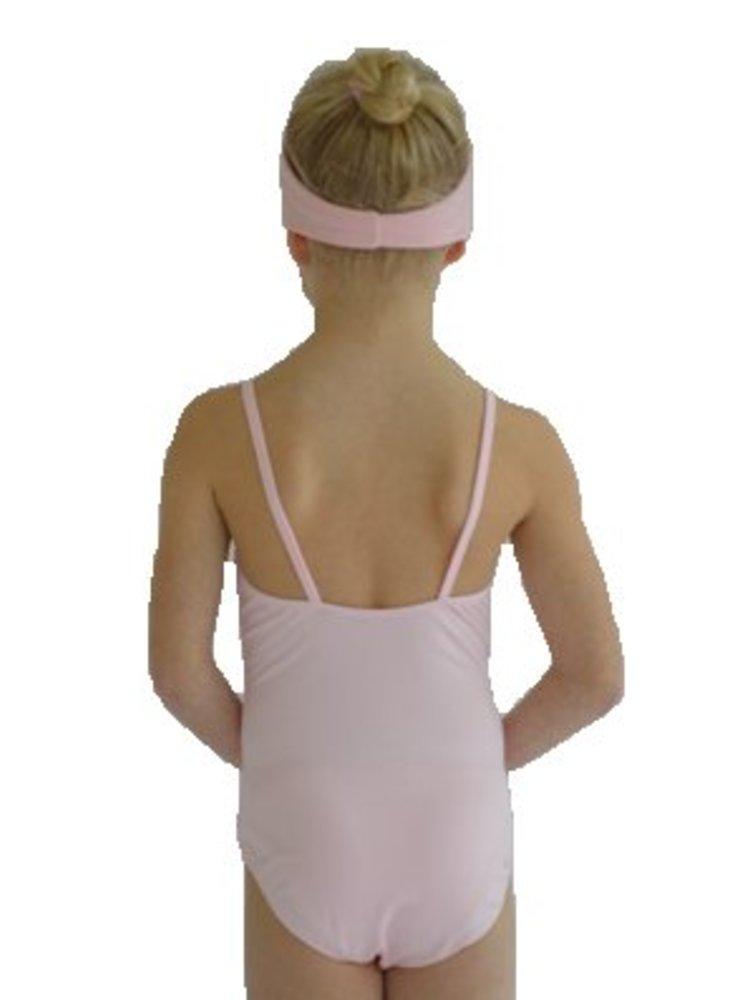 Dansgirl Kinder Balletpakje spaghettibandjes licht roze