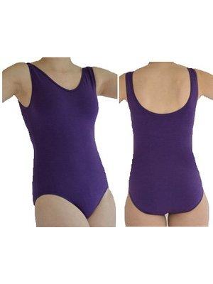 Dansgirl Balletpakje hemdmodel paars