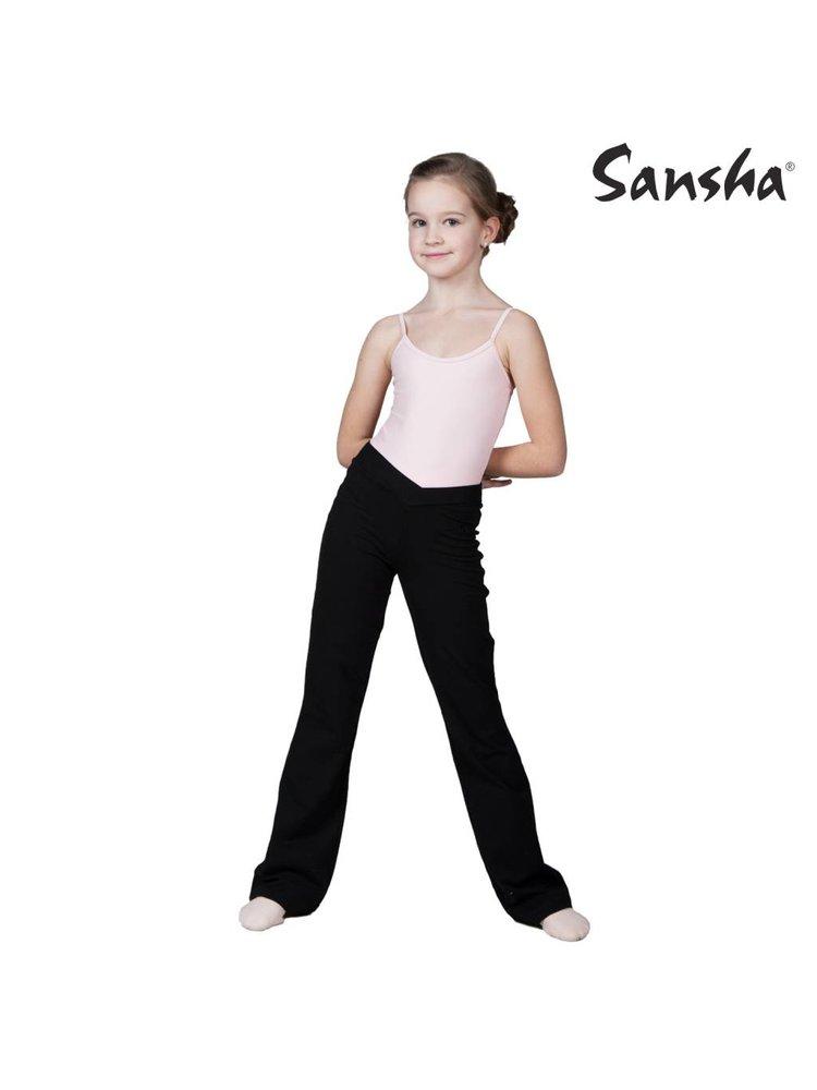 Sansha Signature Balletpakje kinder spaghettibandjes Stacie zwart