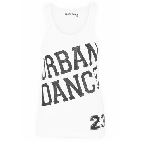 Urban Dance Tanktop mesh wit