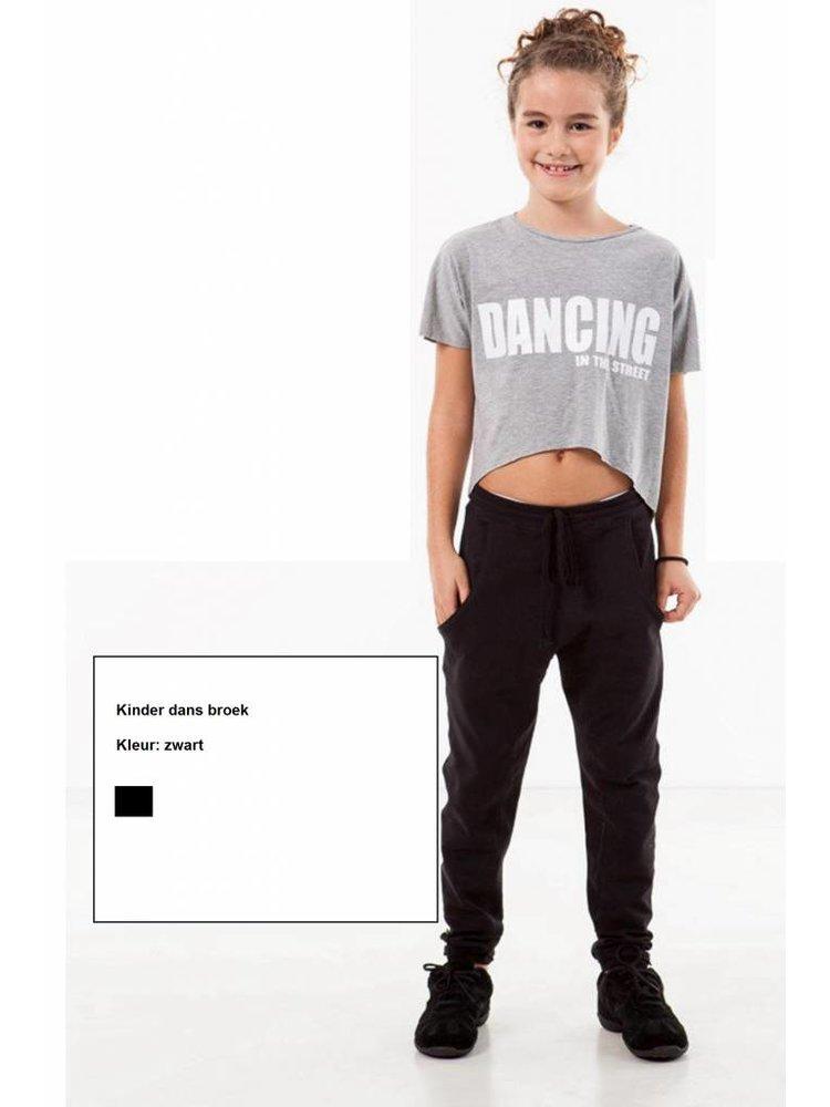 Skazz Kinder dans broek zwart