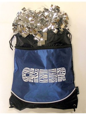 Pizzazz Cheer tas Pom bag blauw