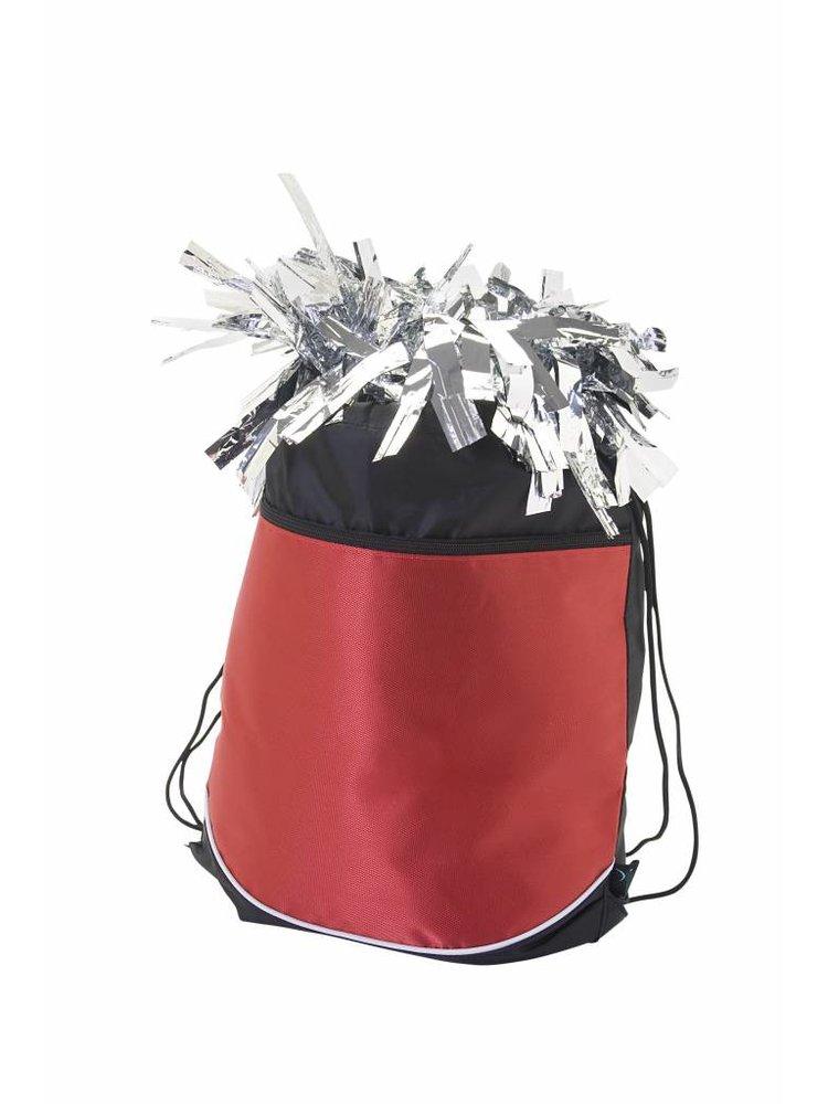Pizzazz Cheer tas Pom bag rood