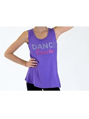Sansha Kinder danstop DANCE paars 158/164