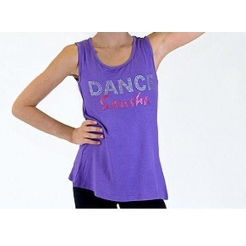 Sansha Kinder danstop DANCE paars
