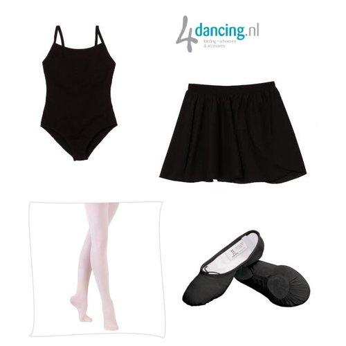 Ballet compleet starters pakket zwart