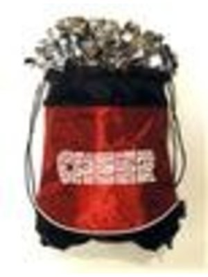 Pizzazz Cheer tas Pom bag rood