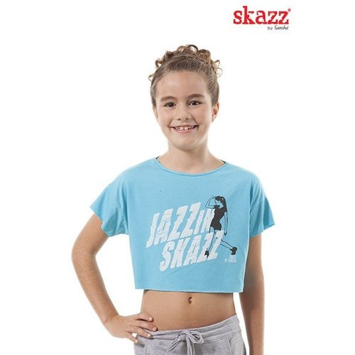 Skazz Kinder danstop hiphop blauw