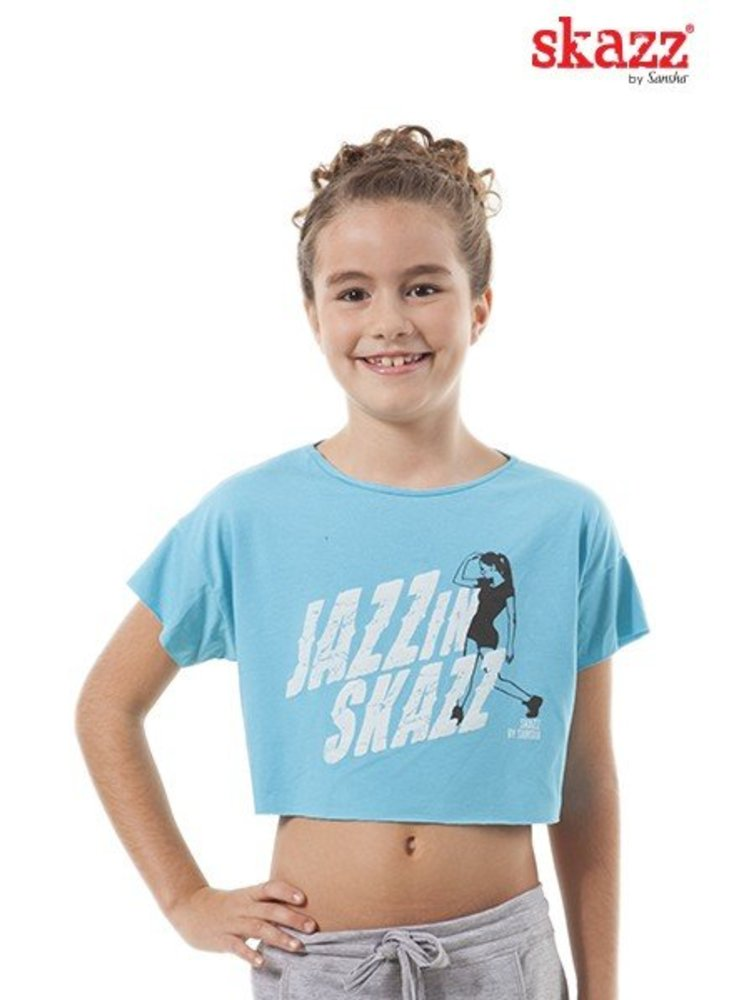 Skazz Kinder danstop hiphop blauw