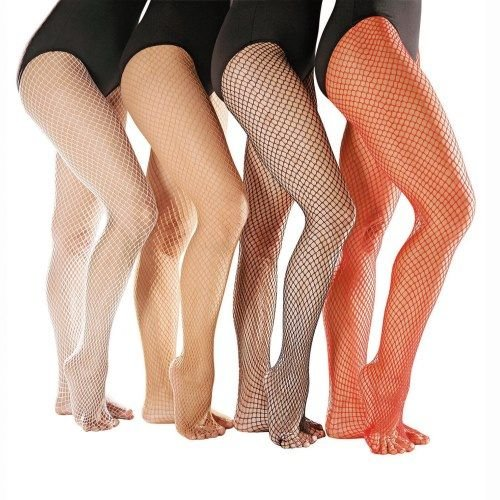 So Danca Huidskleur fishnet panty / netpanty