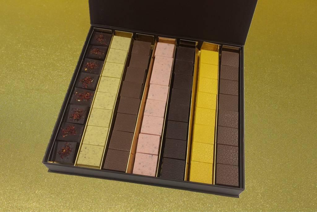 Geschenkdoos groot- Moorse collectie chocolade schelletjes
