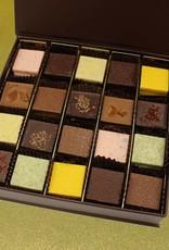 Geschenkdoos medium - Moorse collectie platte chocolade