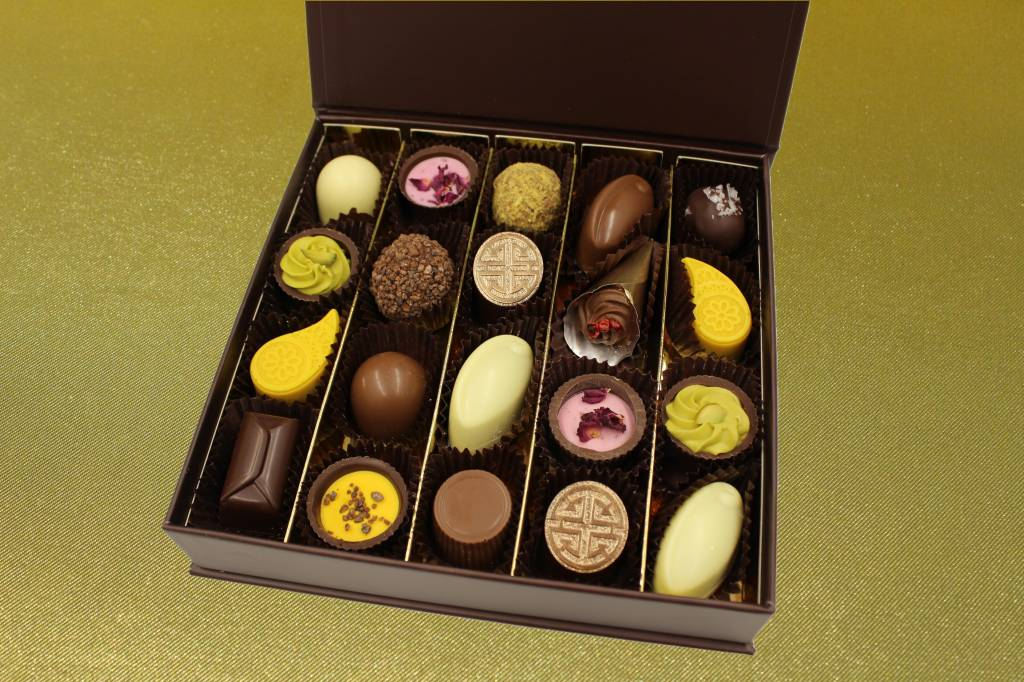 Geschenkdoos medium - gemengde bonbons