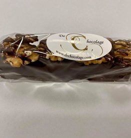 Date treat black chocolate and walnuts