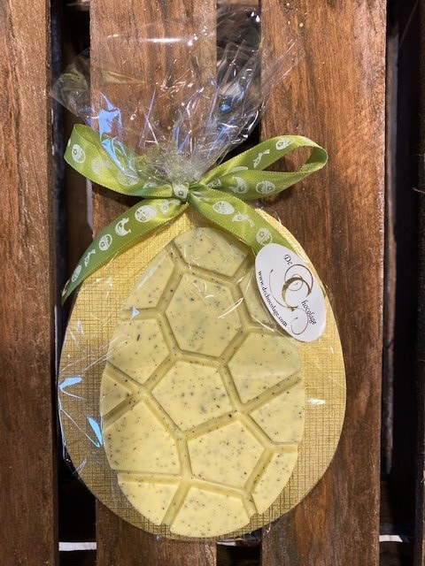 Flat egg mint choclate +/- 95 gr