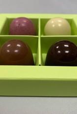 Paasdoos met 4 eieren