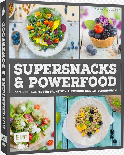 Sabrina Sue Daniels: SUPERSNACKS & POWERFOOD