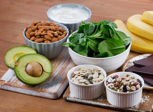 Magnesium in Lebensmitteln