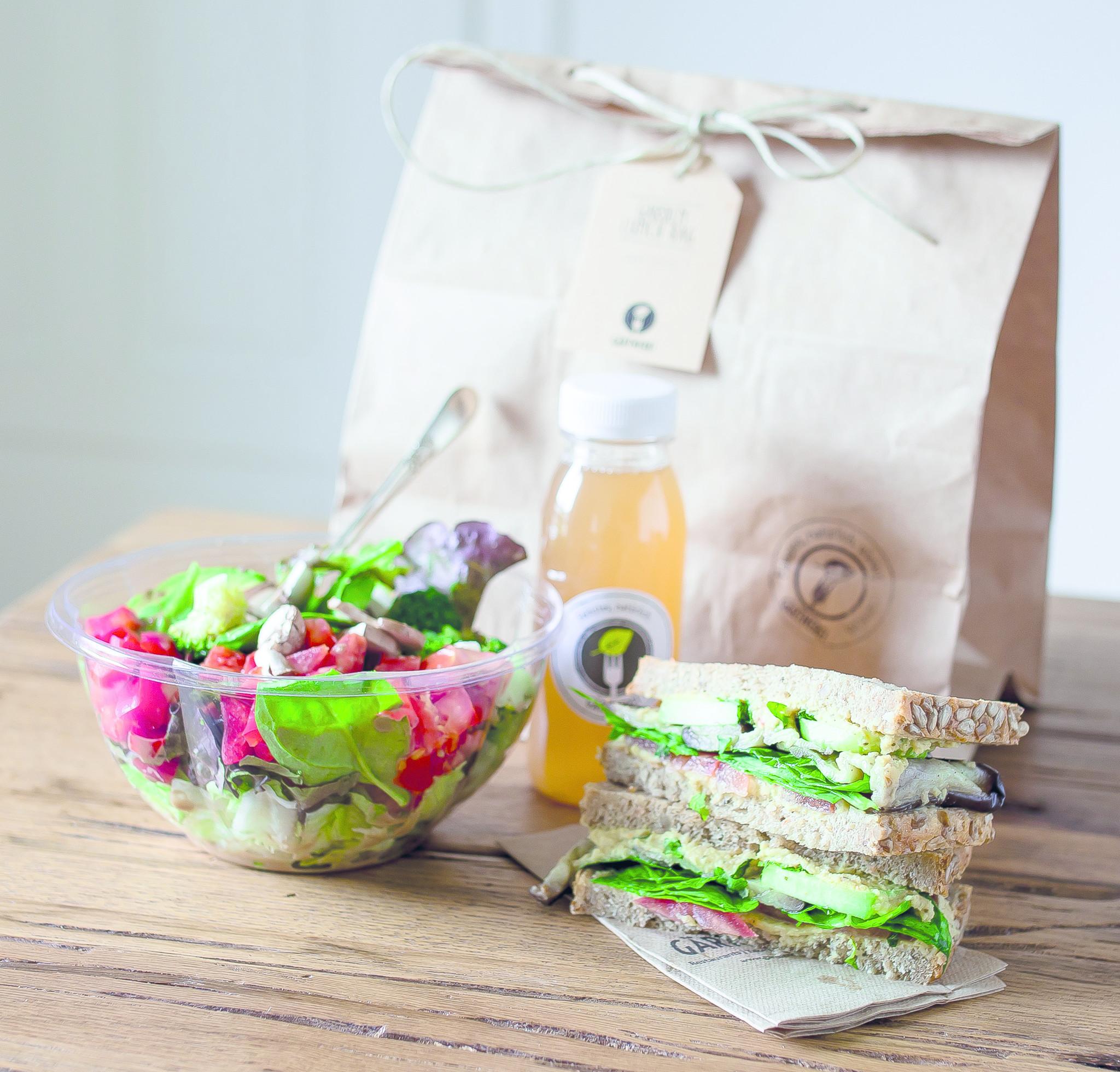 Lunchbag Gärtnerei