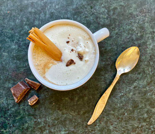 Hot Chocolate mit Maca Cacao