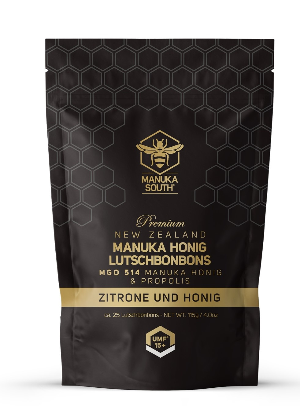 Manuka South ® Manuka Bonbons MGO 514 / UMF 15+ Lemon Honey
