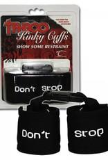 Kinky Cuffs Zwart