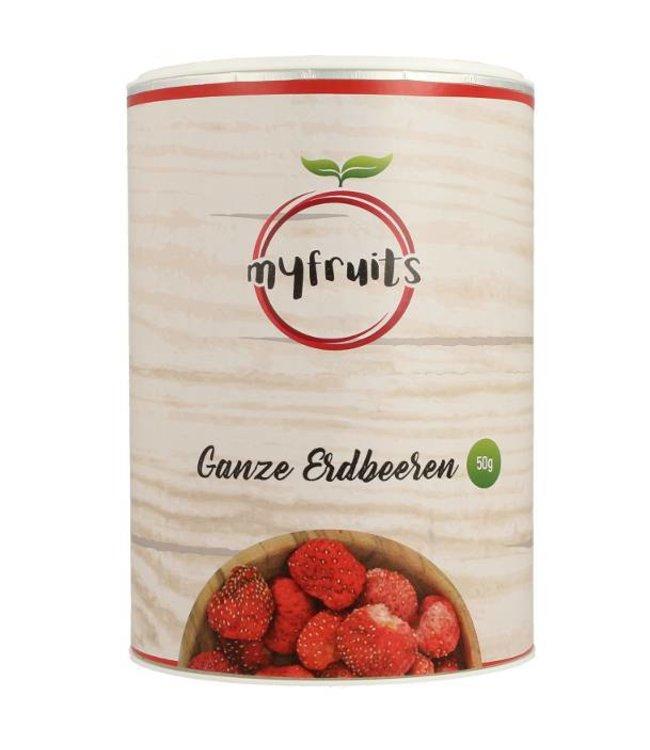 myfruits Gefriergetrocknete Erdbeeren