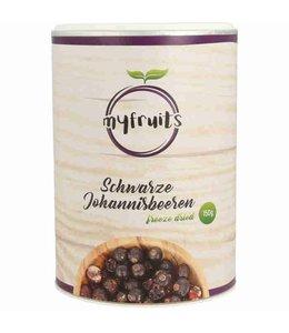 myfruits Schwarze Johannisbeeren (gefriergetrocknet)