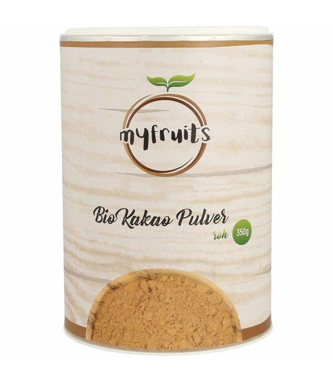 myfruits Rohes bio Kakao Pulver