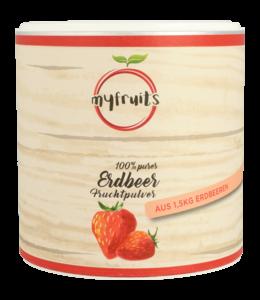 Erdbeer Fruchtpulver