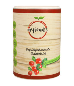 myfruits Cranberries (gefriergetrocknet)