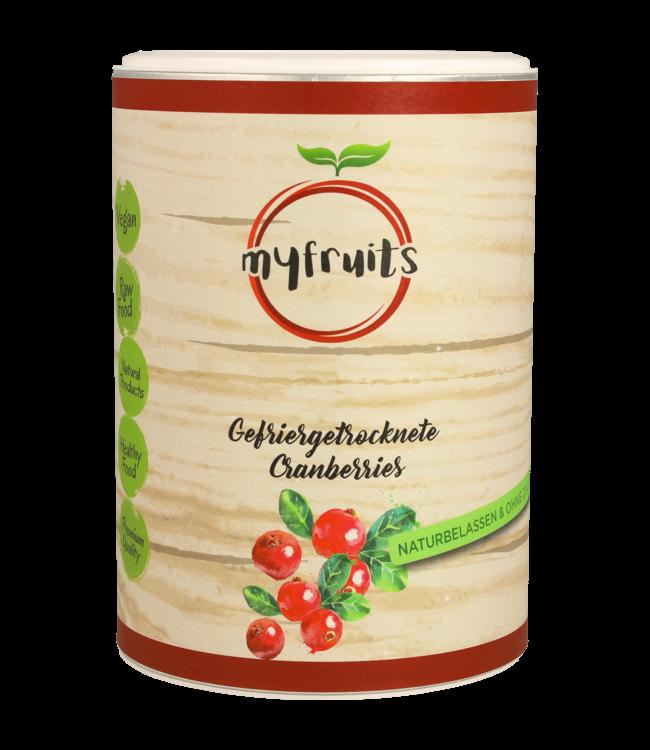 myfruits Cranberries (gefriergetrocknet)