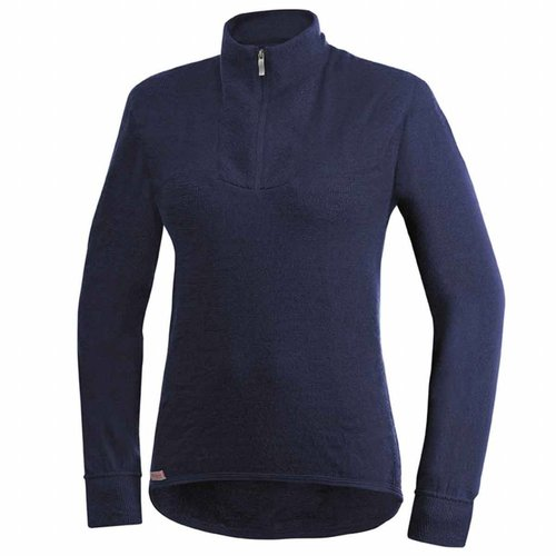 Woolpower 400 dames thermoshirt met rits