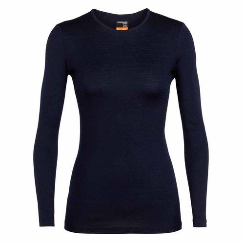 Icebreaker Merino Bodyfit 200 Oasis merino wol dames thermoshirt