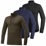 Woolpower 400 thermoshirt met rits