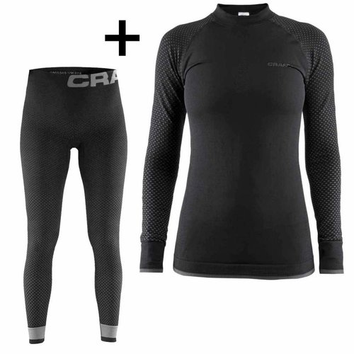 Craft Sportswear Warm Intensity dames voordeel thermoset - thermoshirt en thermobroek