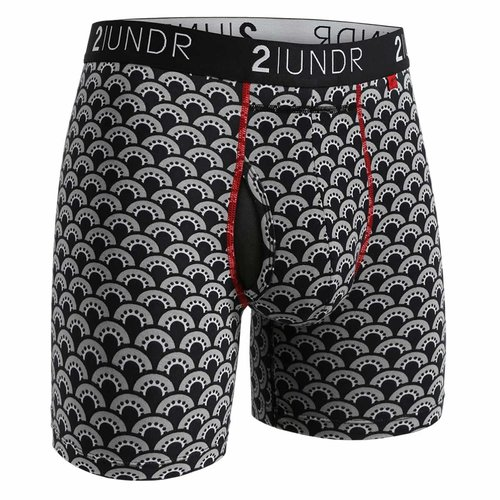 2UNDR Swing Shift heren boxershort met print