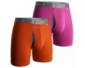 2UNDR 2UNDR Swing Shift Boxer Color