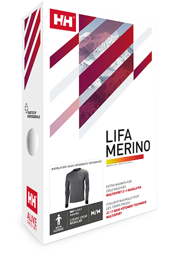 Helly Hansen Warm Merino thermo ondergoed.