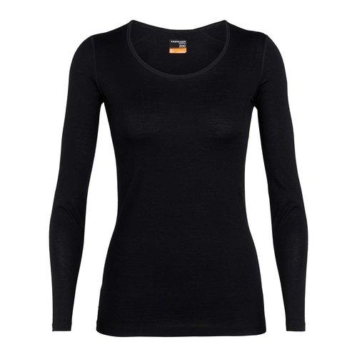 Icebreaker Merino Bodyfit 200 Oasis Scoop dames thermoshirt