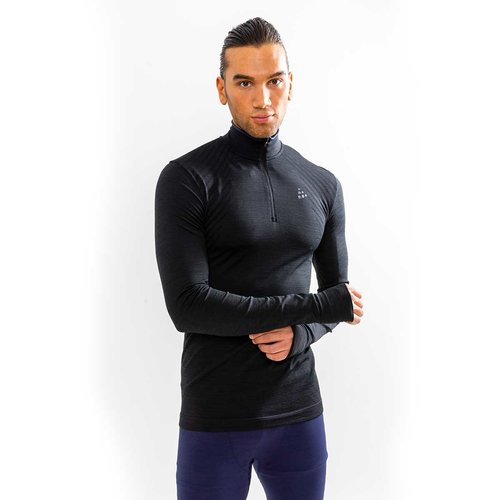 Craft Sportswear Fuseknit Comfort Zip heren thermoshirt