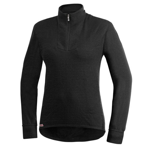 Woolpower 200 dames thermoshirt met kol en rits