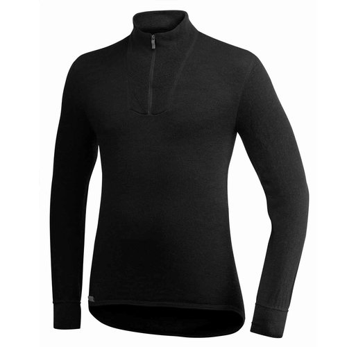 Woolpower 200 thermoshirt met kol en rits