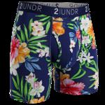 2UNDR Swing Shift heren boxershort met tropen-print